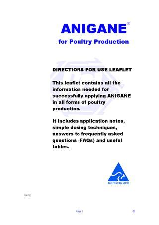 Broiler chicken production business plan